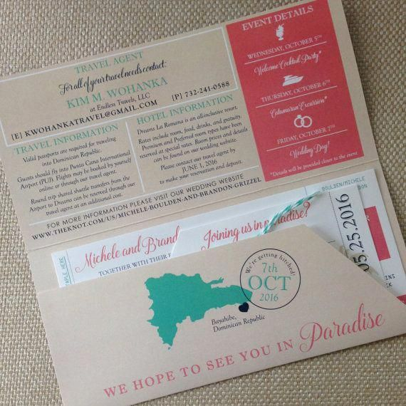 Boarding Pass Invitation And Luggage Tag Rsvp Destination Wedding Inv In 2020 Boarding Pass Invitation Boarding Pass Wedding Invitation Destination Wedding Invitations