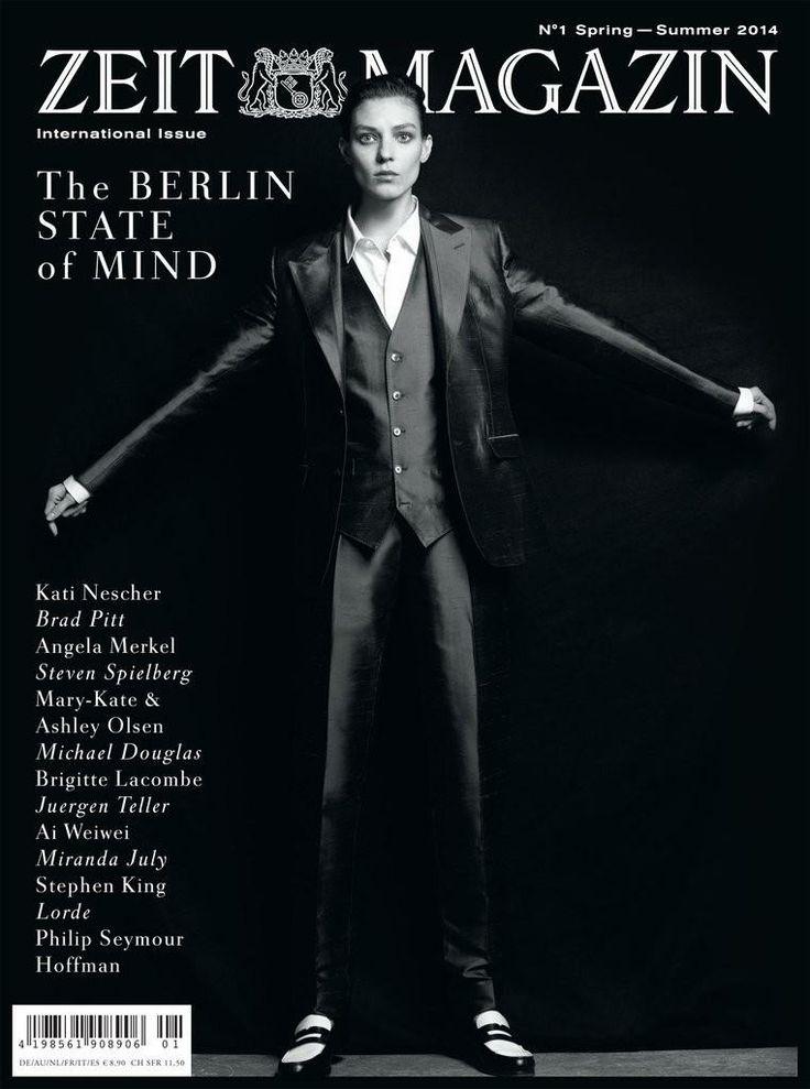 Zeit Magazine - Zeit Magazine International S/S 14 Cover
