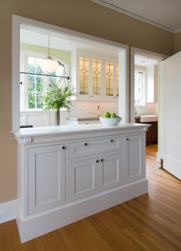 Idea for kitchen/dining room renovation..for the dinning room