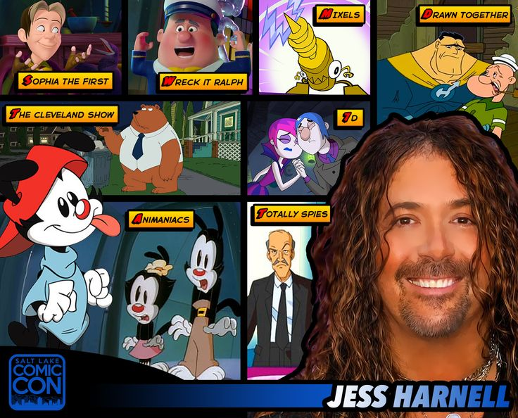 *PIN to WIN* Meet voice actor Jess Harnell at #SLCC15! Wakko in Animaniacs, Drawn Together, The Simpsons and more! #utah