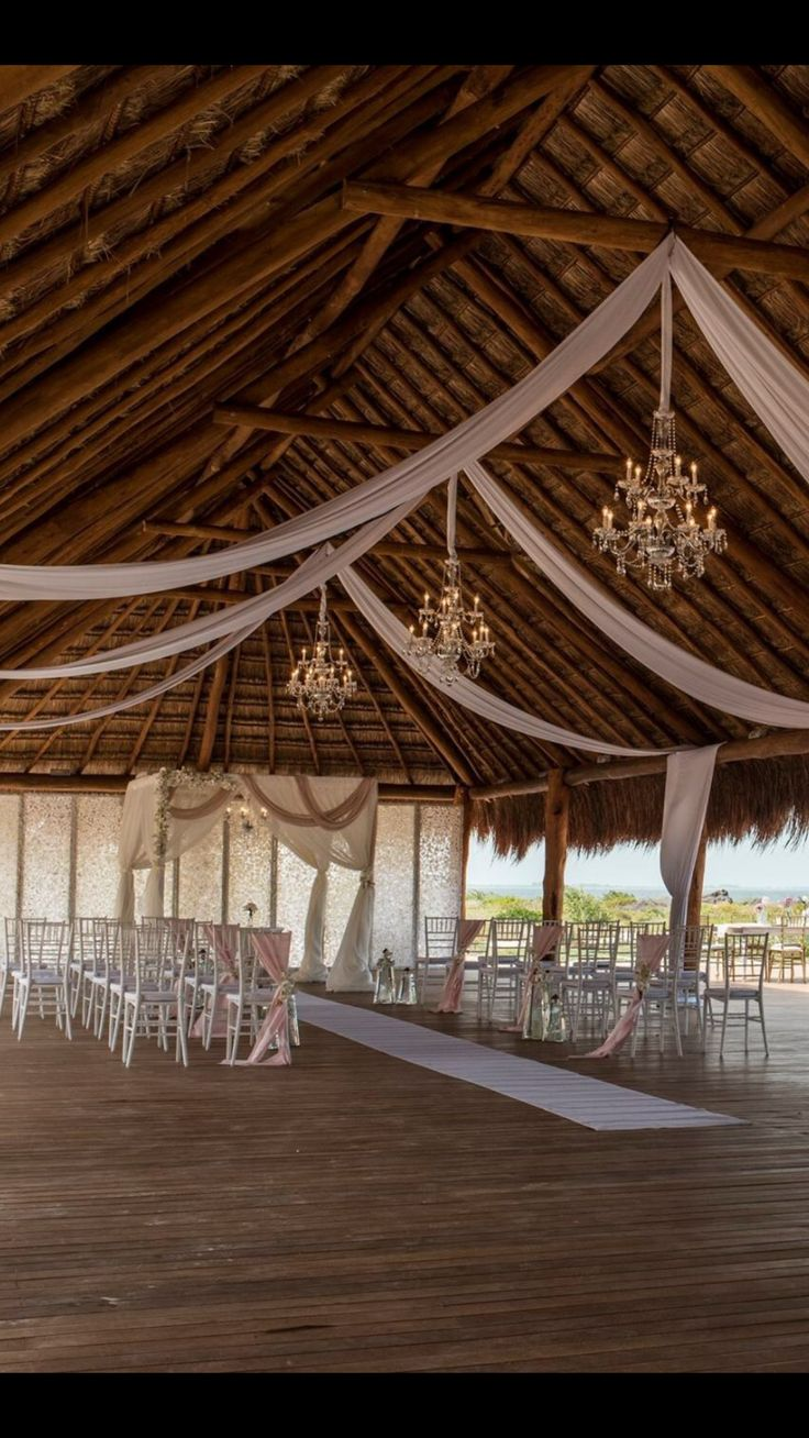The Grand Palapa Wedding Venue On The Beach At Finest