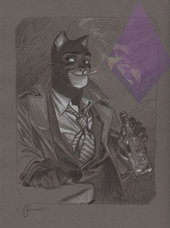 Blacksad by Juanjo Guarnido *