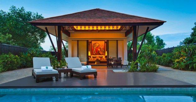 Banyan Tree Lang Co, Laguna Lang Co, Vietnam #luxurylink