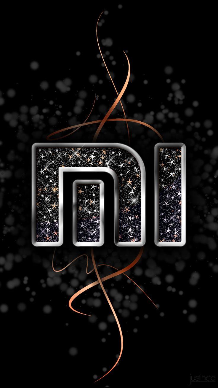 Mi Logo, phone wallpaper, background, lock screen