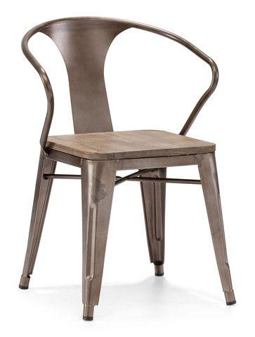 Hampden Chair Rustic Wood (Set of 2) $396