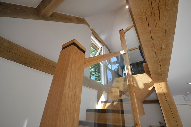 The benefits of having a bespoke oak and glass staircase: