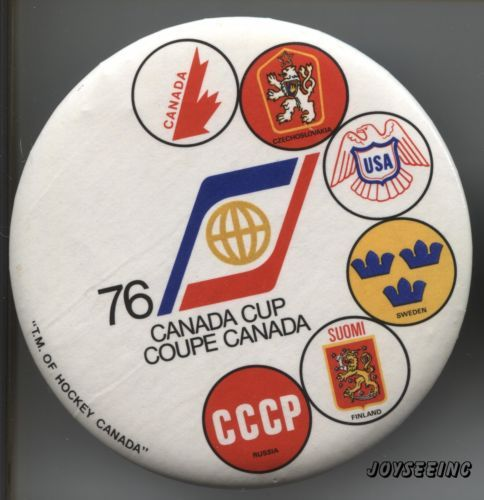 1976-CANADA-CUP-COUPE-CANADA-Vintage-PIN-BACK-BUTTON-BOUTON-EPINGLETTE