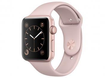 Apple Watch Series 1 42mm Alumínio - Areia Rosa GPS Integrado com as melhores condições você encontra no Magazine Shopspremium. Confira!