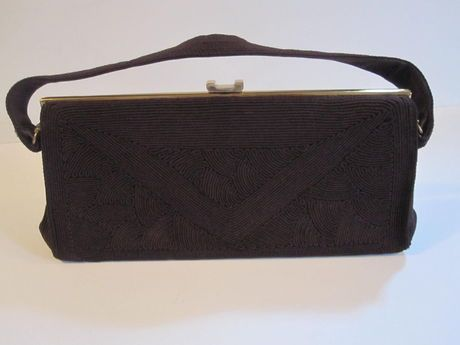 Shop my closet on @Jodie Guirey. I'm selling my Vintage Brown Evening Handbag Bags. Only $79.00
