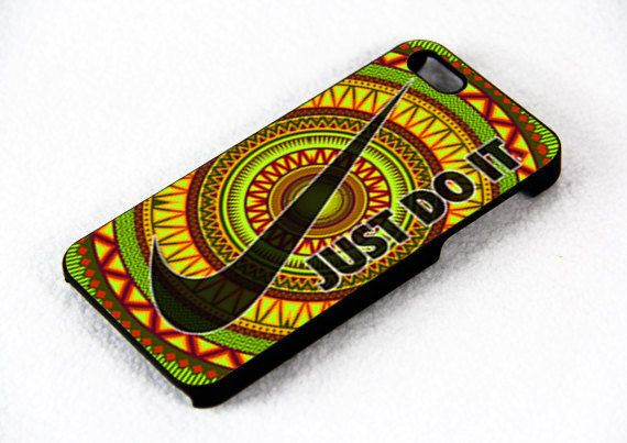 Just Do It Nike Aztec Pattern  Design For iPhone 4/4s by FixCenter, $15.00