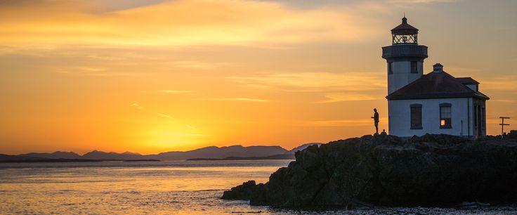 Les îles SanJuan, situées au large de la côte nord de l'État de Washington, en mer des Salish, représentent la région du Nord-Ouest Pacifique dans toute sa splendeur.