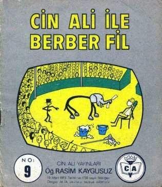 Serinin ilk komedisi... Absürd bir deneme olan Cin Ali ile Berber Fil, yalın anlatımıyla fark yaratıyor