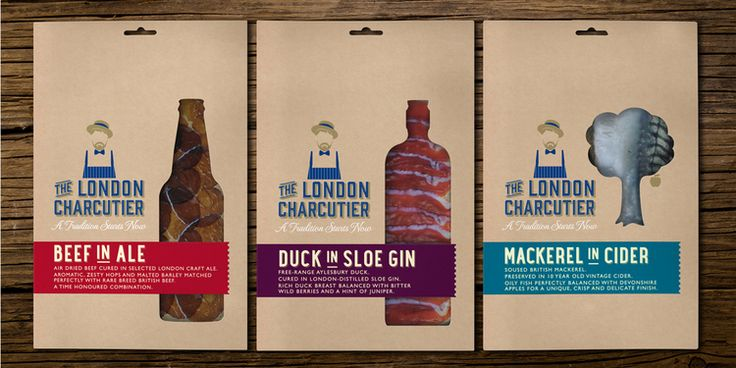 The London Charcutier — The Dieline - Package Design Resource