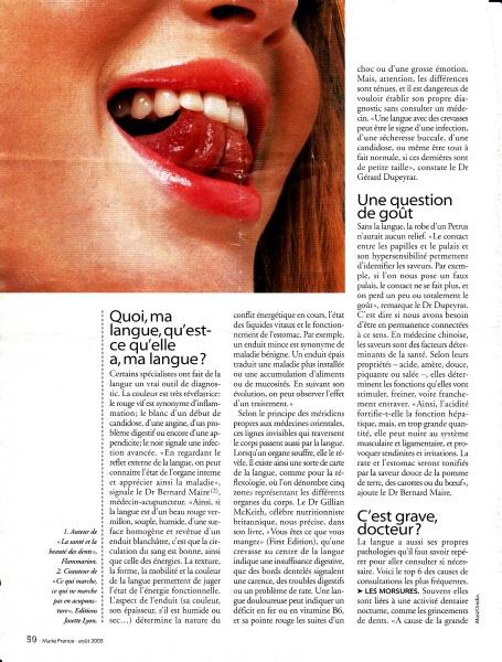 """Page 3 de """"la langue elle dit tout de nous"""""""