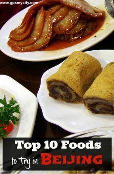 Top 10 Foods to Try in Beijing
