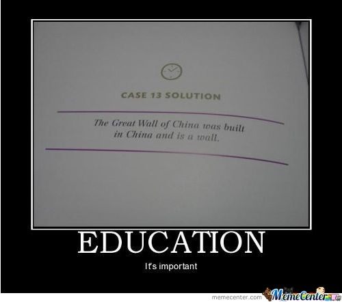 Why is Education improtant?