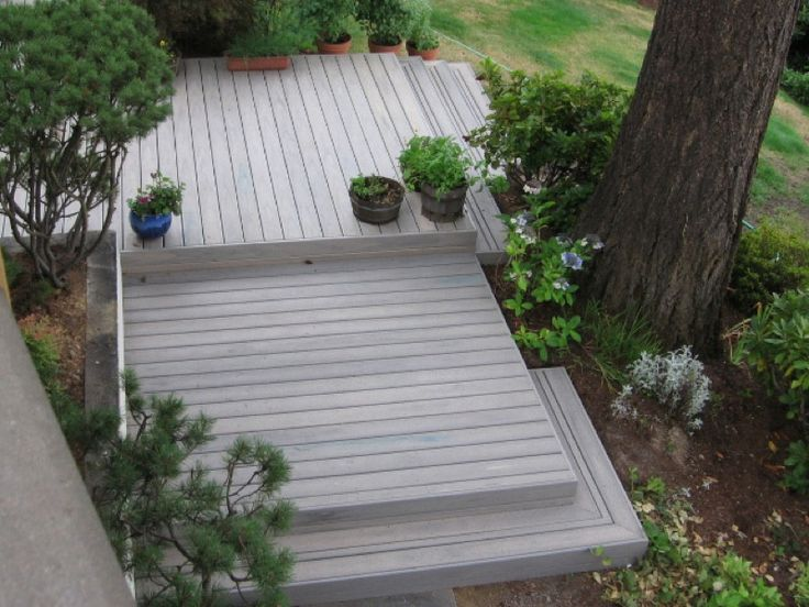 25 best ideas about platform deck on pinterest wood for Platform deck plans