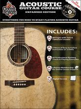Rock House - House of Blues Acoustic Guitar Course Instructional Book and DVD
