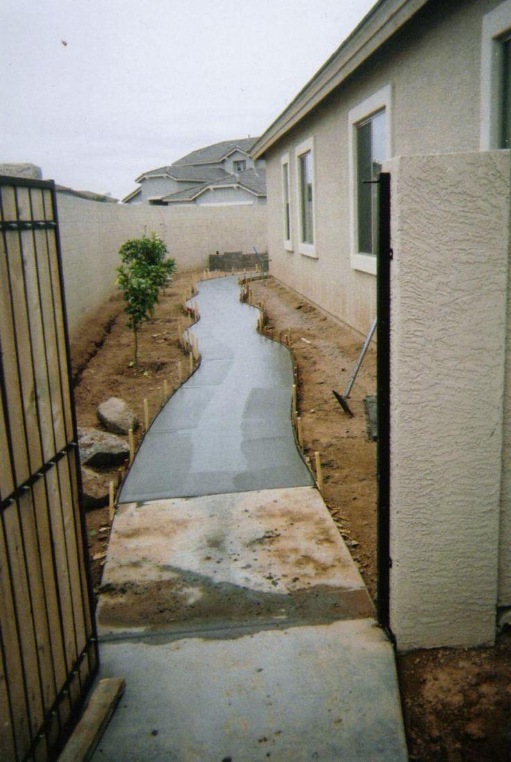 80 best Side yard ideas images on Pinterest | Gardening ... on Side Patio Ideas id=48917