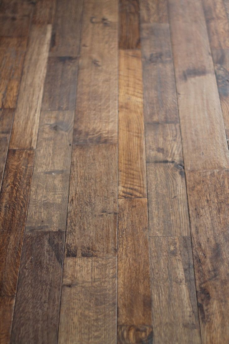 Coffee Wide Plank hand scraped | City Flooring