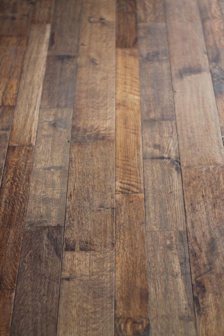 hand carved custom hardwood floors via julieblanner.com