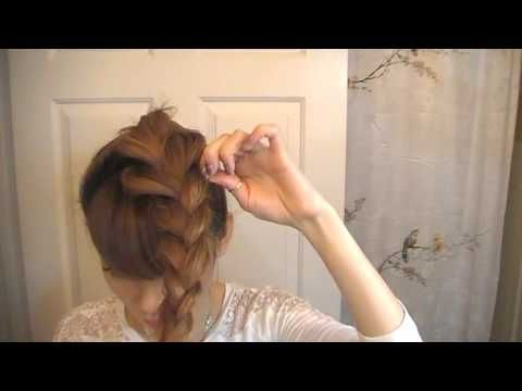 5 Easy Heatless Updos/Buns for the Lazy Chick--for if or when the hair gets long enough
