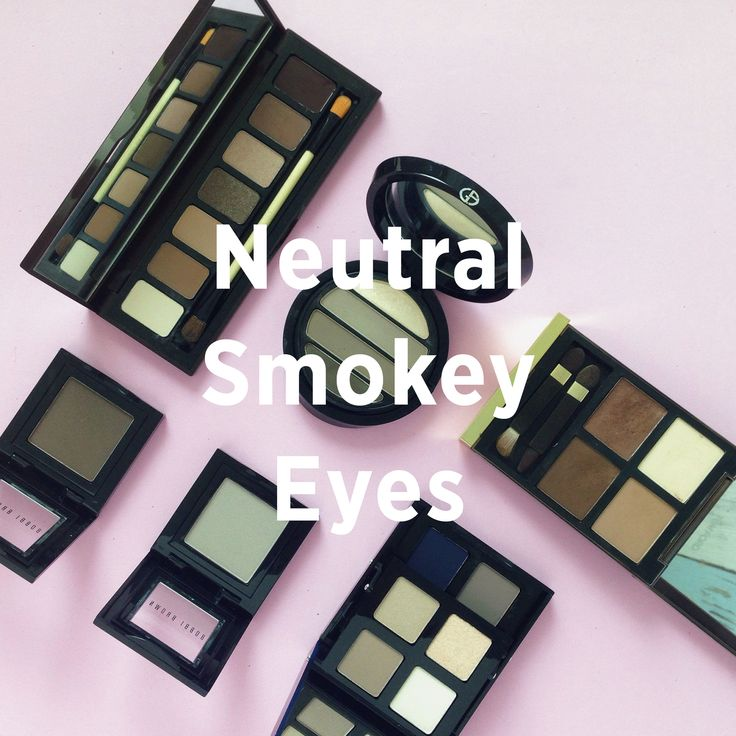 Pilih neutral shades untuk riasan mata smokey eyes yang bisa digunakan sehari-hari. Must-have shades such as brown, warm grey, and taupe are very versatile and also work appropriate. You can be more playful by adding a pop of colour like navy or pink. Have fun!