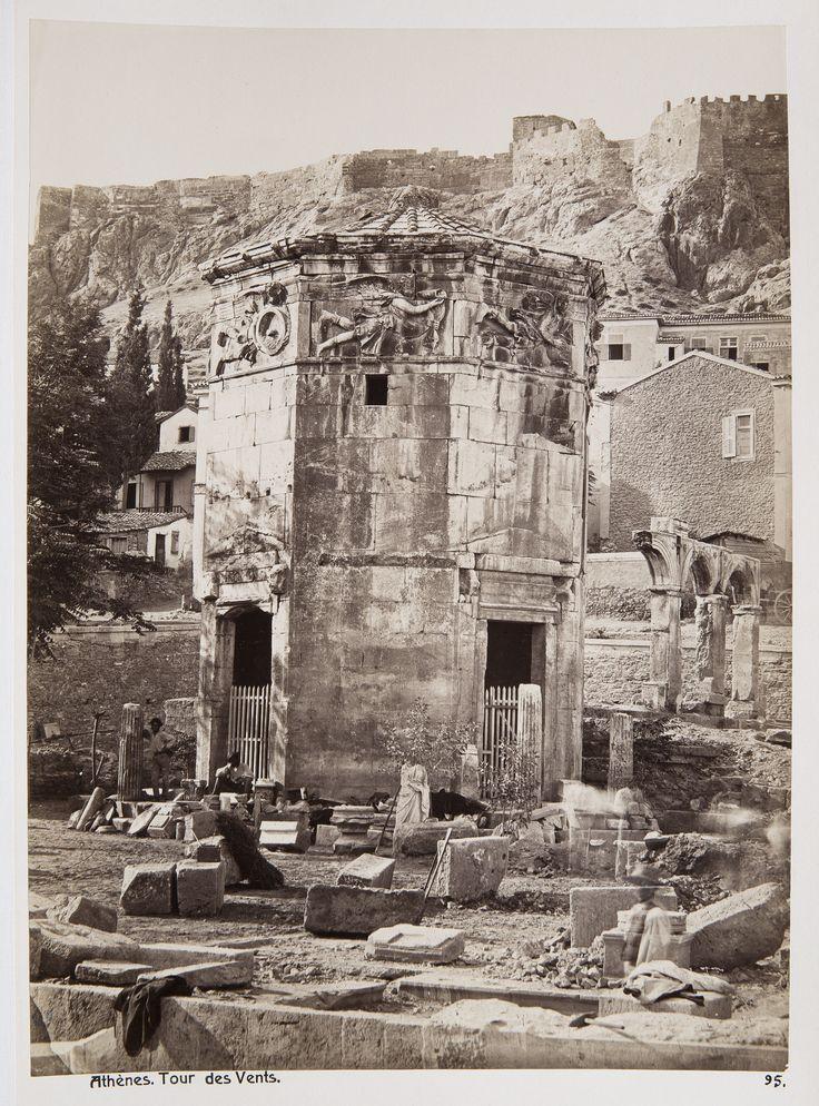 https://flic.kr/p/TzqVHd | Ο Πύργος την Ανέμων | ΔΗΜΗΤΡΙΟΣ ΚΩΝΣΤΑΝΤΙΝΟΥ, περίπου 1875 commons.wikimedia.org/wiki/File:Fotografi_av_vindarnas_to...