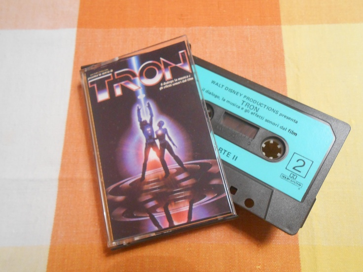 Tron (1982 Walt Disney movie) audiotape (Italy)