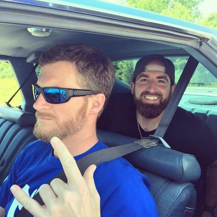 Jr with Tyler from Dude Perfect