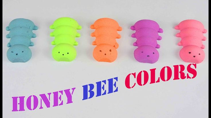 DIY How to make Honey Bee colors Toys for Bimbo || Learn Colors with Kin...