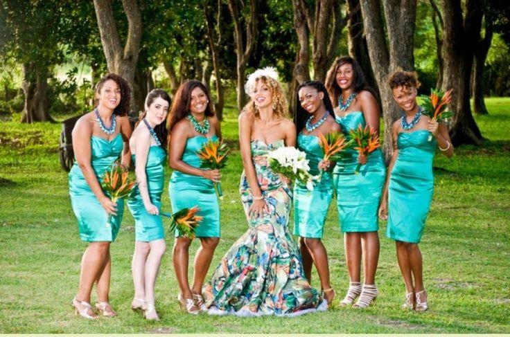 Friends wedding in barbados for Wedding dresses in barbados