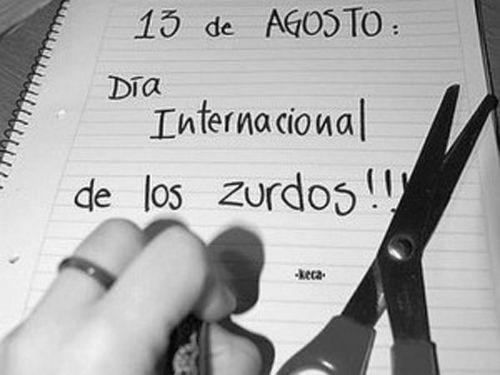#Día #Internacional #zurdos !!! #ElGarageDeLaPiel