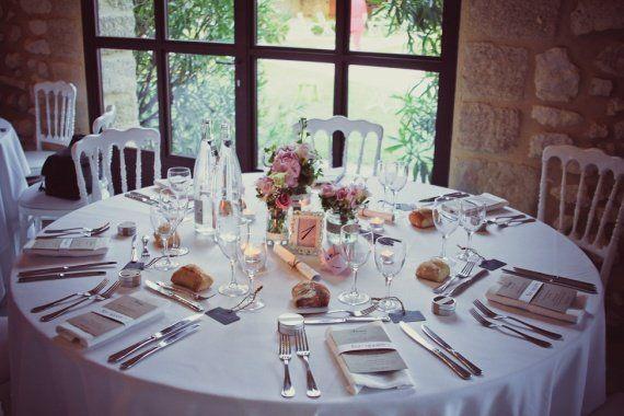 table simple et jolie !  deco  Pinterest
