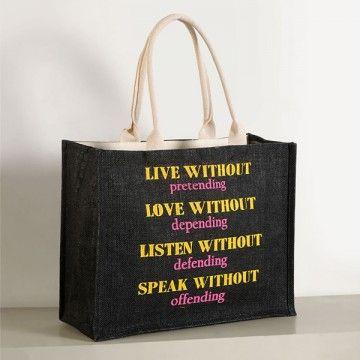 Jute Shopping Bag- JCB01-612