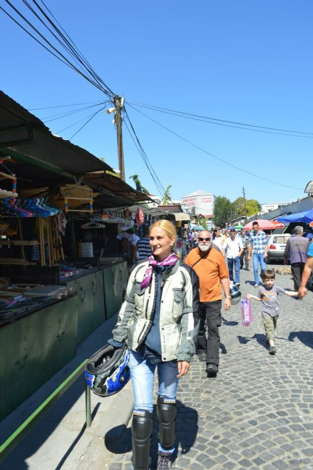 the oldest bazaar in Europe - Skopje, Macedonia. A nice break. www.motorcycle-tours.travel