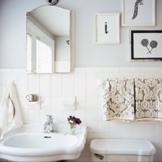 Liking the clean lines in a bathroom
