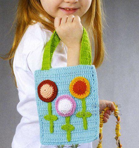 сумочка для девочки волшебные цветы