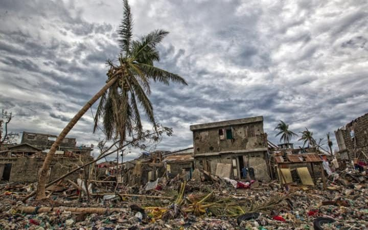 The clean up continues in Jeremie, Haiti. The city lies on the western tip of Haiti and suffered the full force of the category 4 storm, leaving tens of thousands stranded.