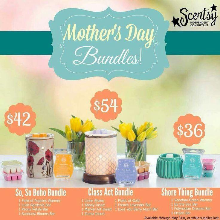 Mother's Day bundles 2015 https://vandaway.scentsy.ca