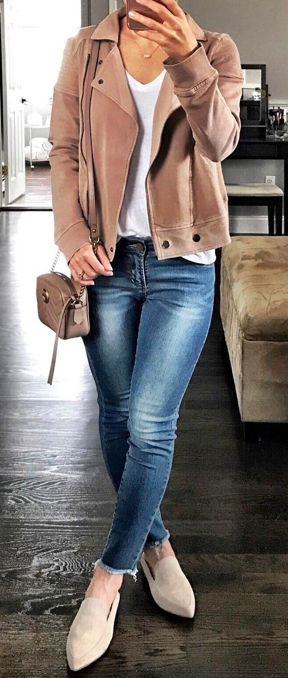 trendy casual style outfit idea