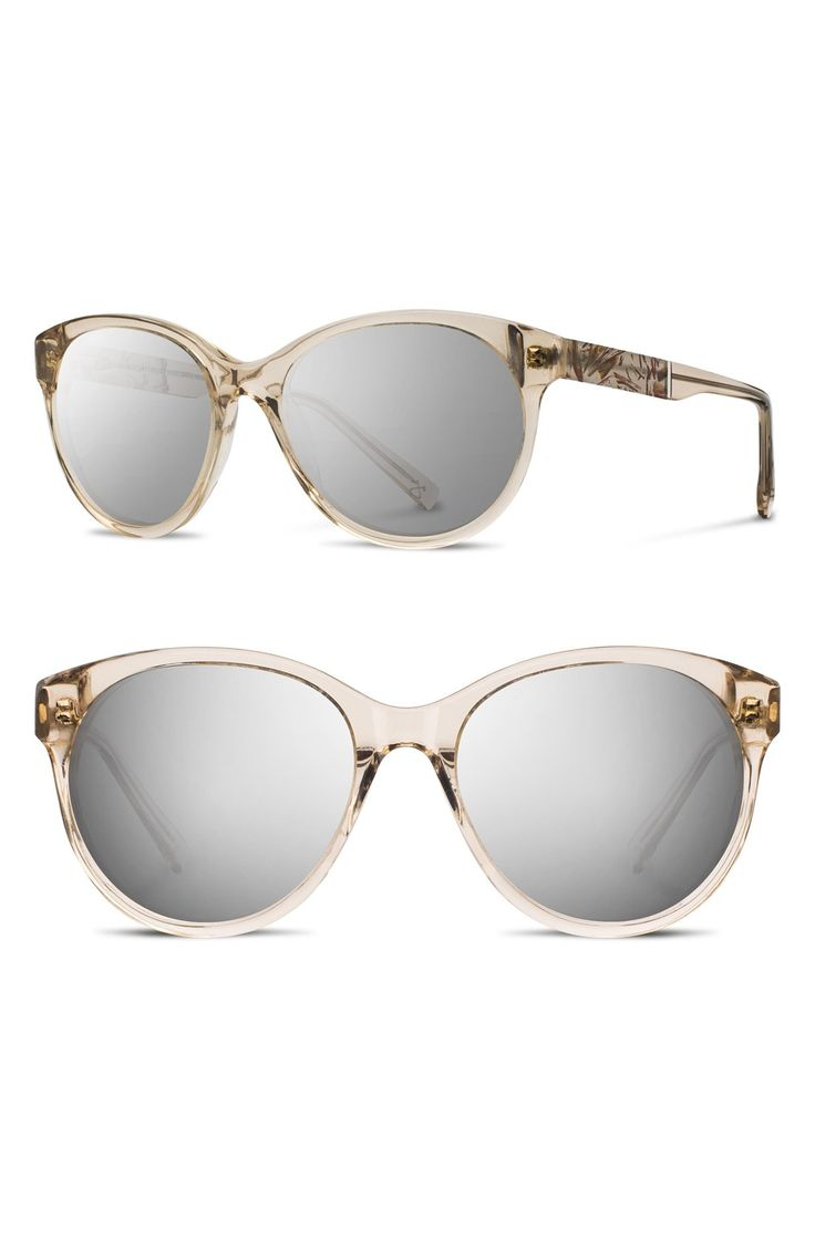 Free shipping and returns on Shwood 'Madison Flower' 54mm Polarized Round Sunglasses at Nordstrom.com. Perfectly chic, rounded frames define feminine sunglasses crafted with real floral inlays and metal accents for natural polish. Smart polarized lenses complete the Portland-made package.