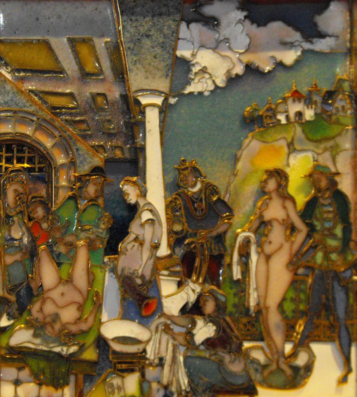 FÉNYMORZSÁK – A Tűzzománcművészek Magyar Társasága országos, csoportos kiállítása : Erdős Renée Ház Sisa József