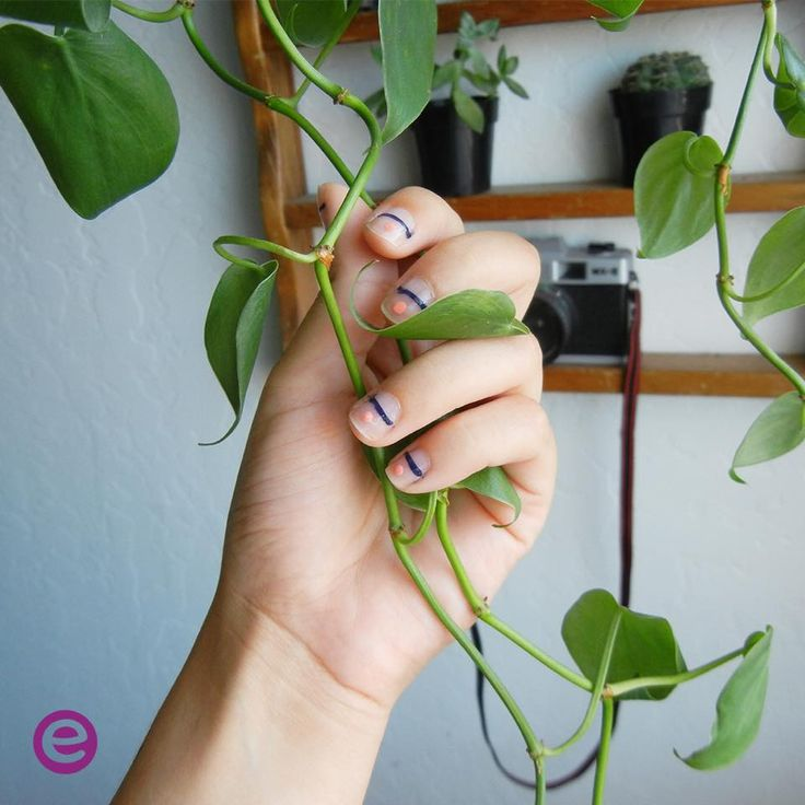 Super cute nail art with Gel nail polish