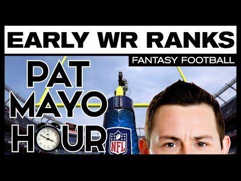 2017 Fantasy Football: Early WR Rankings, Sleepers & Debate
