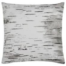 "Betulla Birch Print Decorative Pillow 18"" X 18"""
