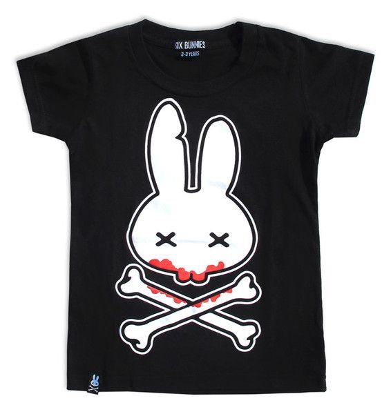 Tričko Six Bunnies - Blood Bunny