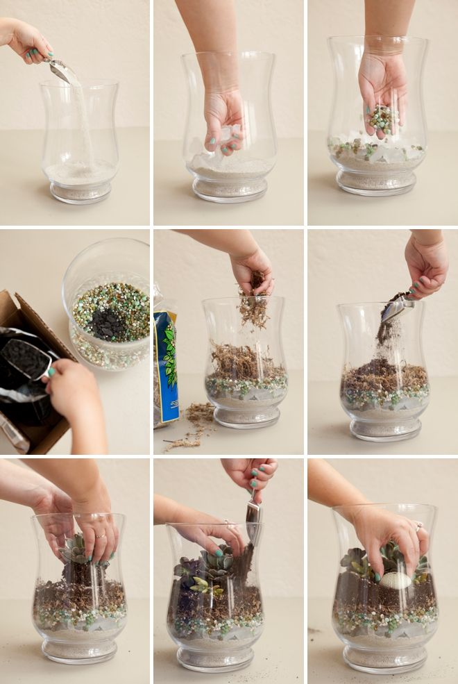 Learn how to make terrariums for your wedding! – Juanita Myburgh