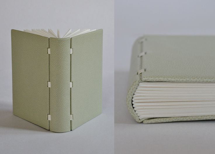 Beautiful handmade books by Swiss bookbinder Kylin Lee
