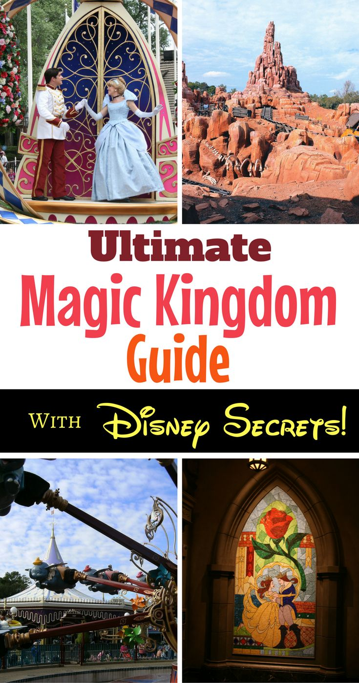 The guide to the Magic Kingdom at Walt Disney World offers insider tips and Disney secrets to having the ultimate magical vacation!